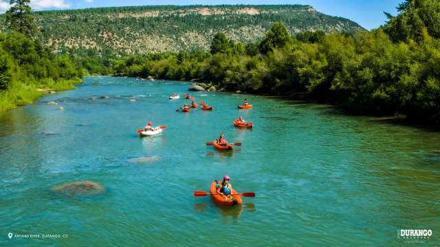 Animas River in Summer, Durango, CO