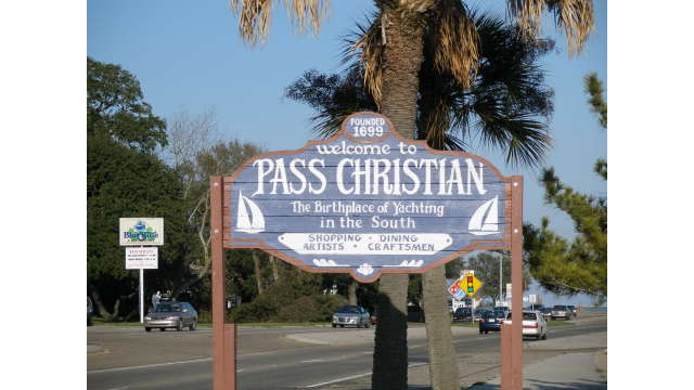 "Welcome to Pass Christian ""The birthplace of Yachting in the South"""