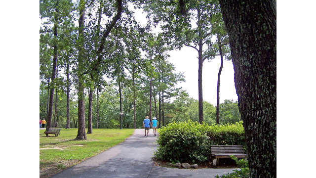 Walking Trail at Diamondhead Country Club