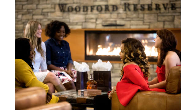 Ladies at the Woodford Reserve Lounge