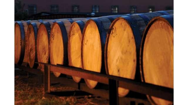White Oak Bourbon Barrels