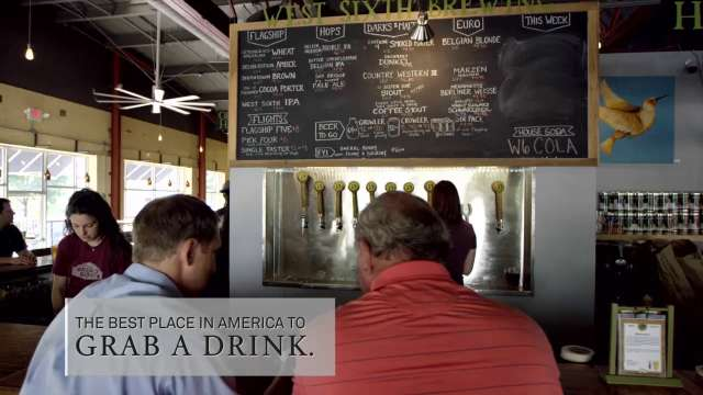 """""""The Best Place in America to Grab a Drink"""" - Lexington, KY"""