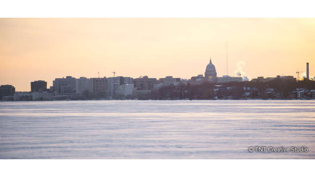 Winter on Lake Monona