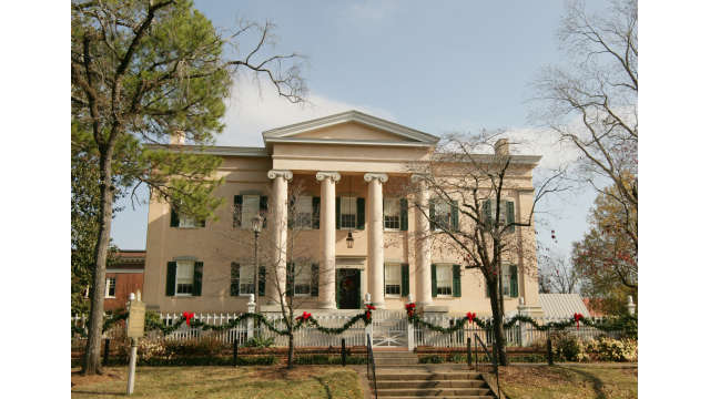 Christmas at the Old Governor's Mansion