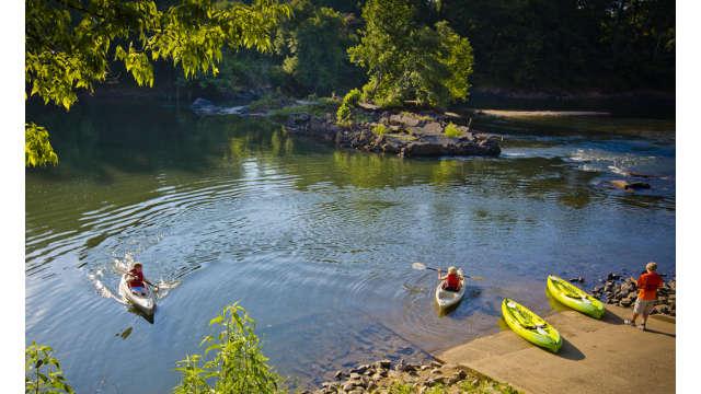 Oconee River Greenway kayaking