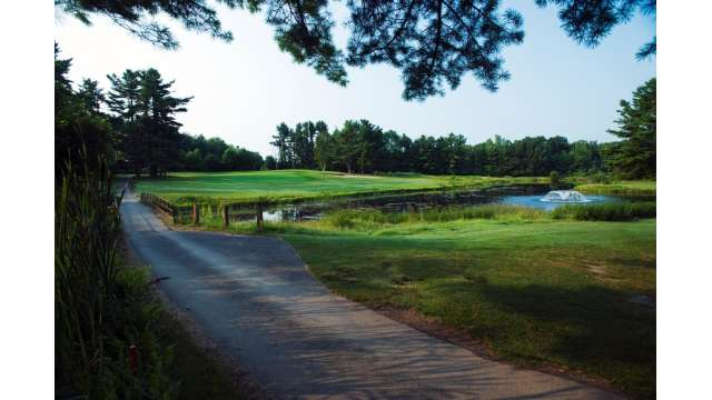 Saratoga Spa State Park Golf Course - 4th Hole, Signature Hole