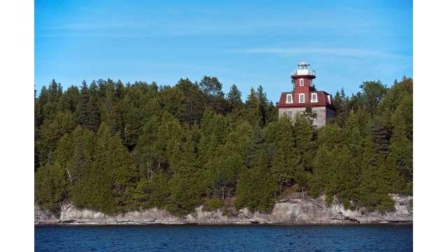 Valcour Island Lighthouse - On Lake Champlain
