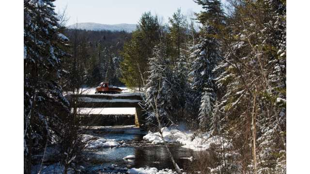 Snow Mobile Groomer - Adirondacks
