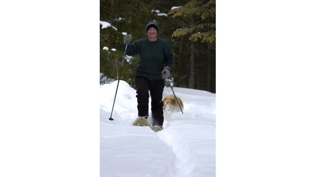 Snowshoeing - Adirondacks near Old Forge