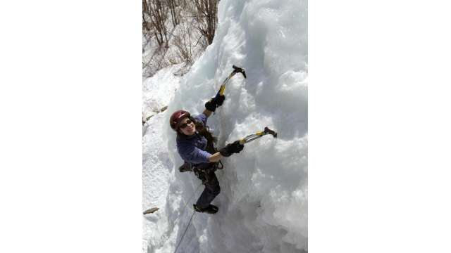 Ice Climbing in the Adirondacks