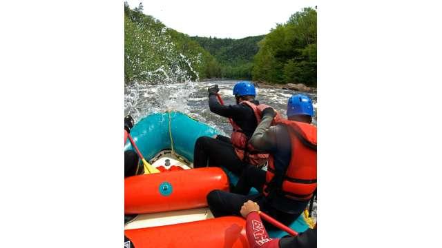 Rafting the Hudson River Gorge w/ Hudson River Rafting Company 138