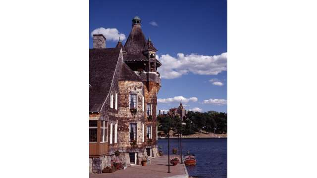 Boldlt Castle Boat House/ Boldlt Castle in the Thousand Islands