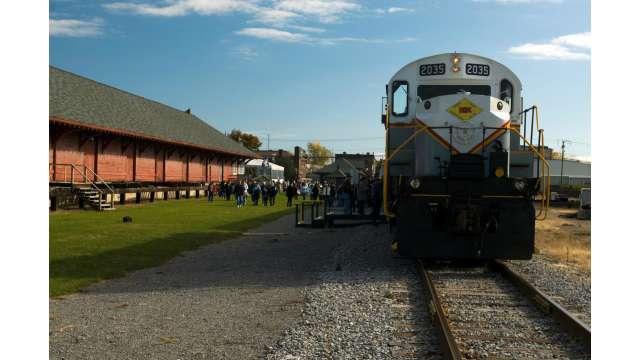 Medina Railroad Museum and Train Excursion 1609