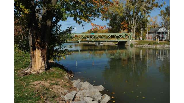 Erie Canal Lift Bridge in Holley
