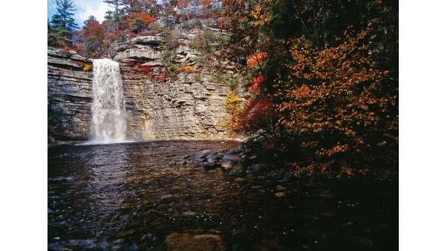 Awosting Falls at Minniwaska State Park