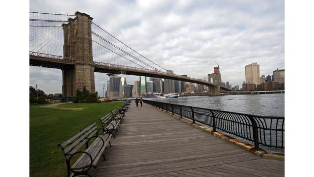 Brooklyn Bridge from Empire-Fulton Ferry State Park