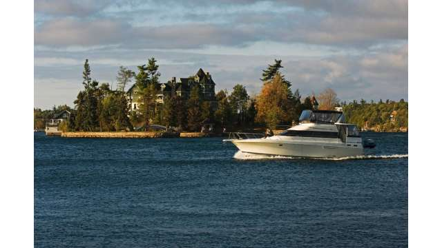 Boating in the Thousand Islands