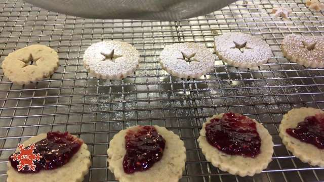OBX Holiday Recipe | Linzer Cookies