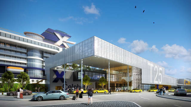Image of an artist rendering of the renovated Cruise Terminal 25