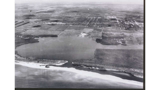 Lake Mabel in 1925 before Port Everglades
