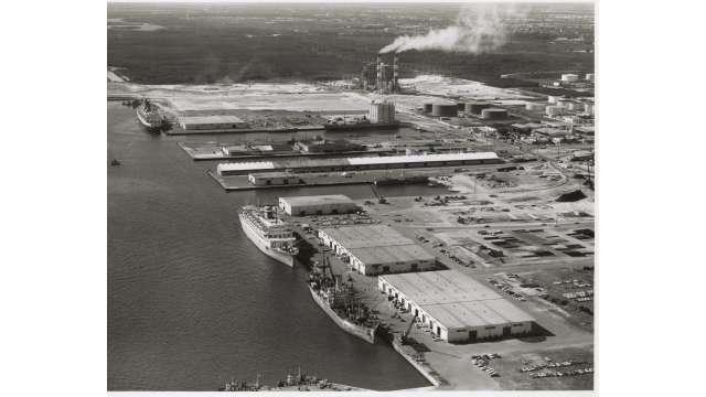 1962 Port Aerial
