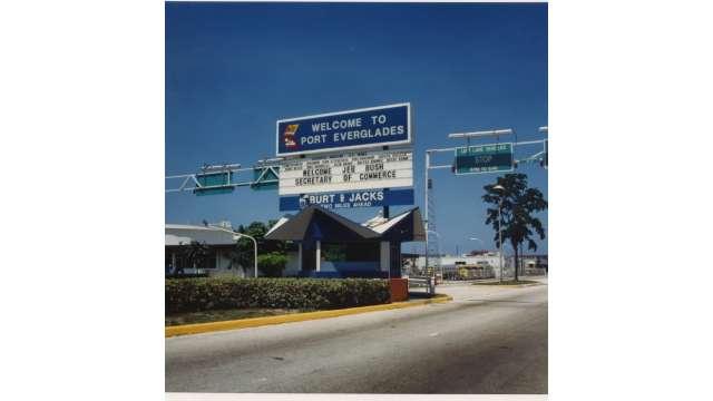 1987 Main Entrance on S.R. 84