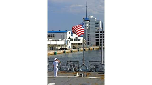 Fleet Week at Port Everglades