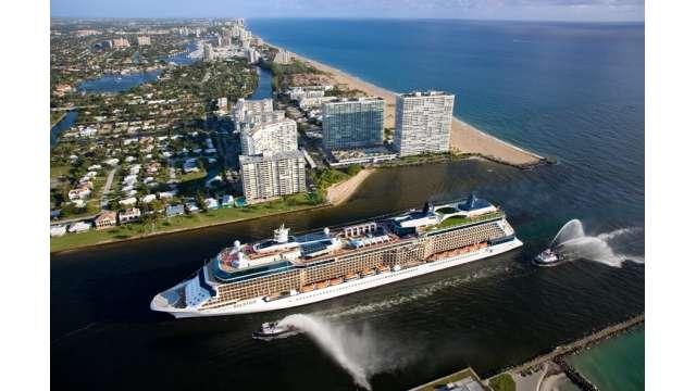 Celebrity Solstice arrives to Port Everglades