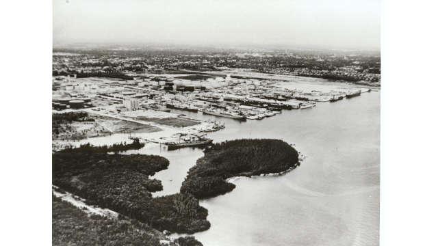 1950s Port Aerial
