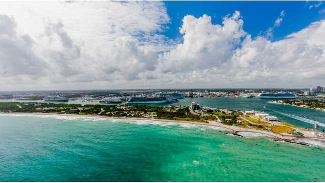 2014 Aerial View of Port Everglades