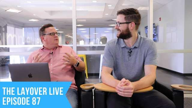 The Layover Live Episode 87 | App and Website Analytics Together At Last