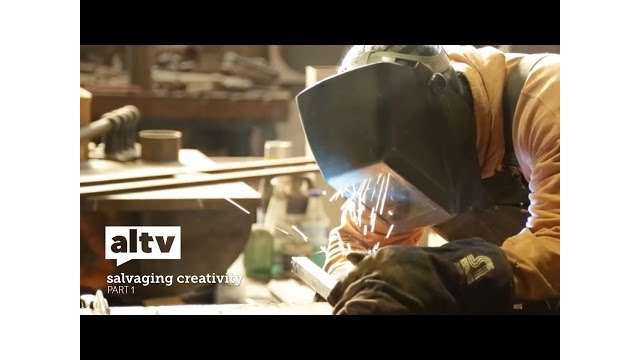 "ALTV Presents ""Salvaging Creativity"""