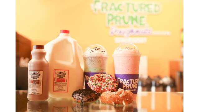 Fractured Prune Doughnuts