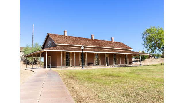 Colorado River State Historic Park, Quartermaster Depot Building in Yuma, Arizona