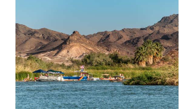 Boats at Colorado River