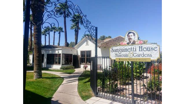 Sanguinetti House Museum & Gardens in Yuma, Arizona