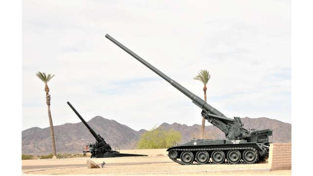 Behind the Big Guns at YPG in Yuma, Arizona