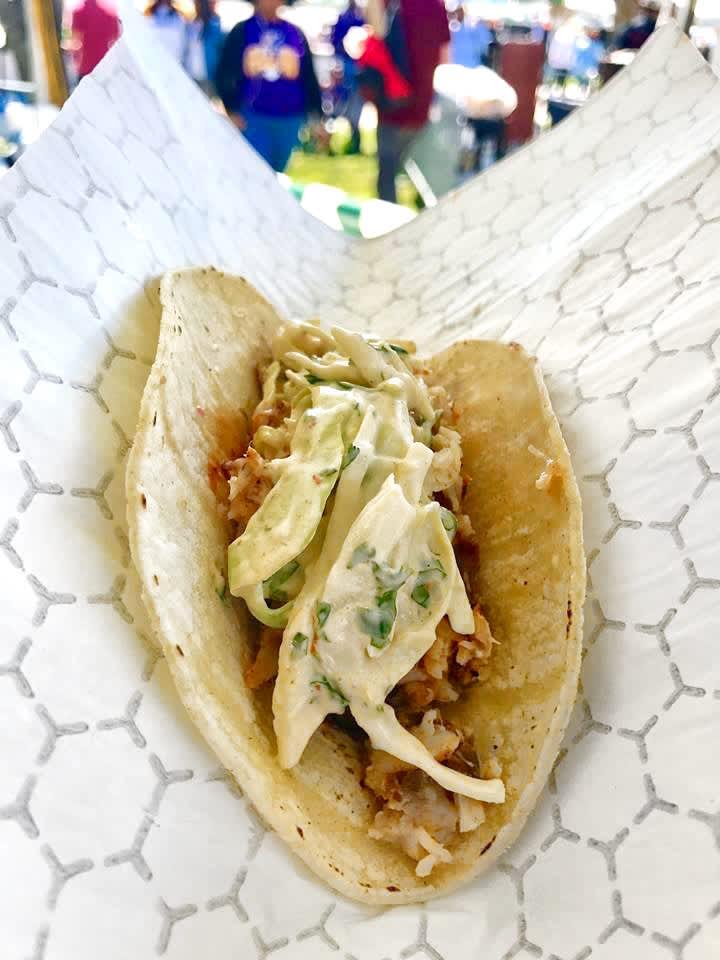 GW Fins Fish Tacos
