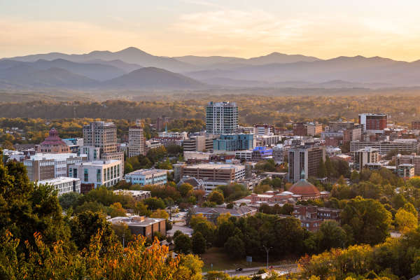 Downtown Skyline_Credit ExploreAsheville.com