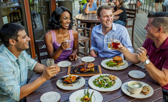 Patio Dining at Smoky Park Supper Club