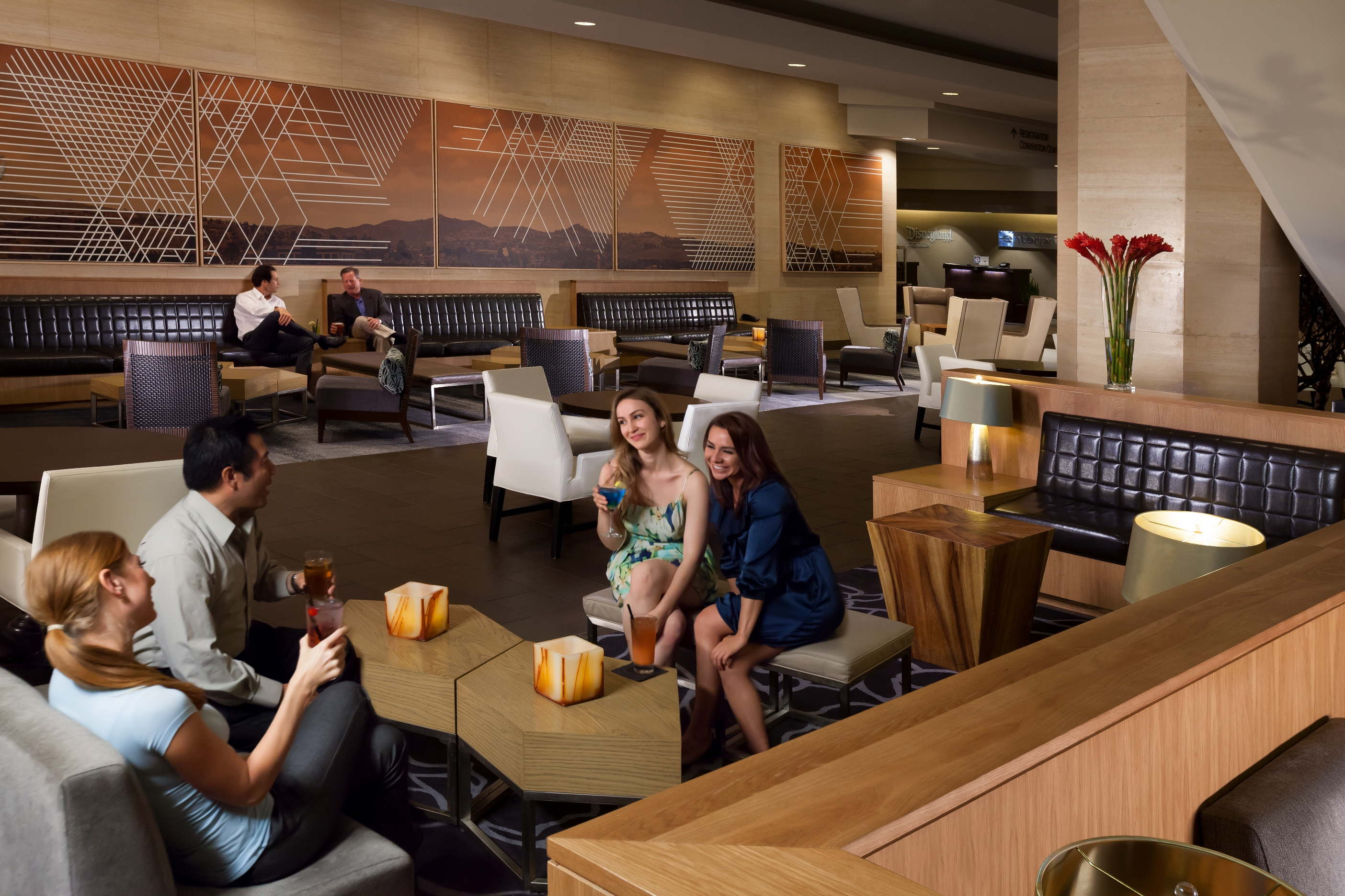Mix Restaurant Lounge At Hilton Anaheim