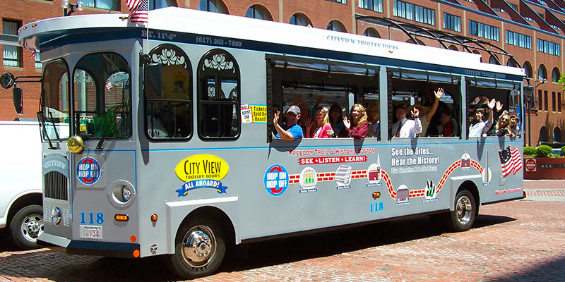 boston hop on hop off bus map Boston Cityview Trolley Tours boston hop on hop off bus map