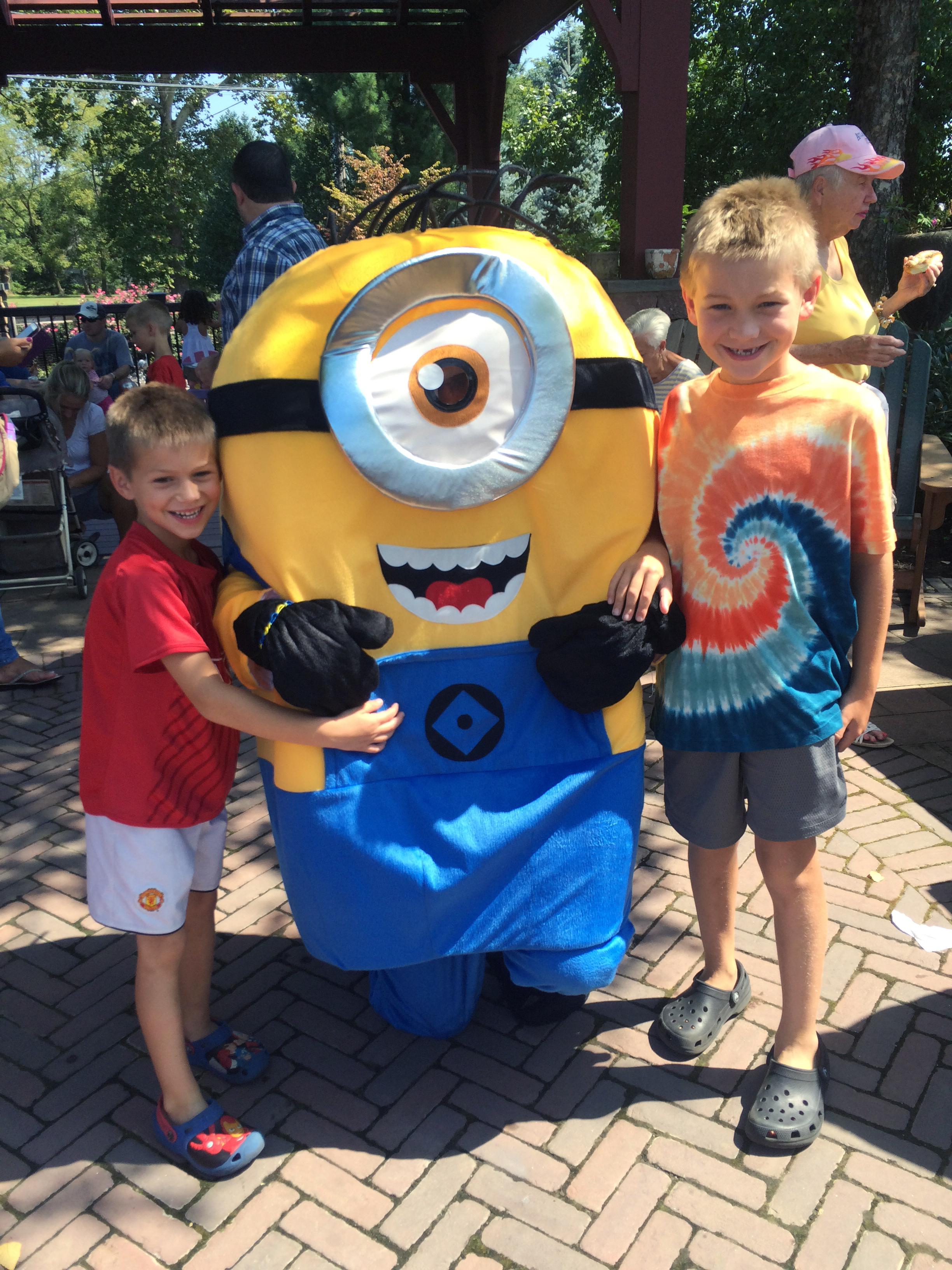Labor Day Bbq With Minion From Despicable Me