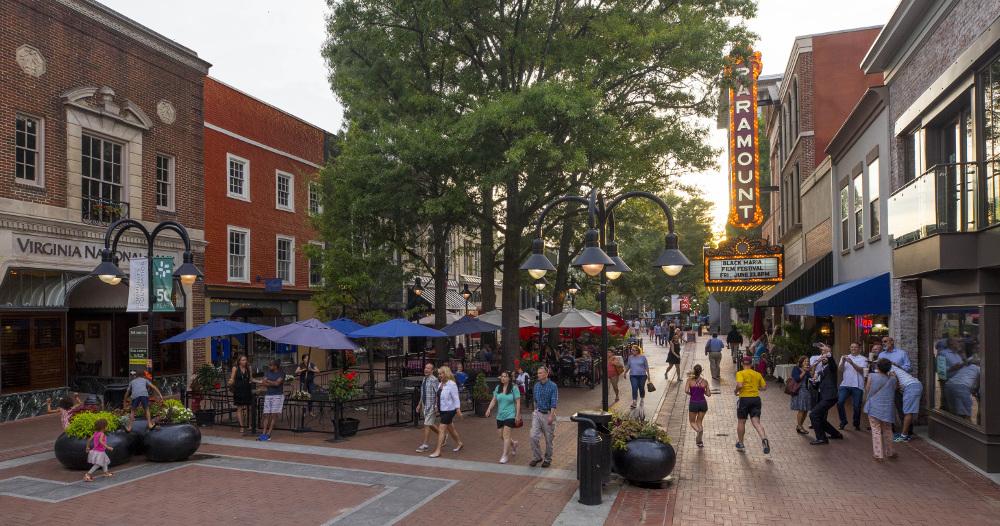 Mall Directory Dutch Square Center >> Charlottesville Historic Downtown Mall