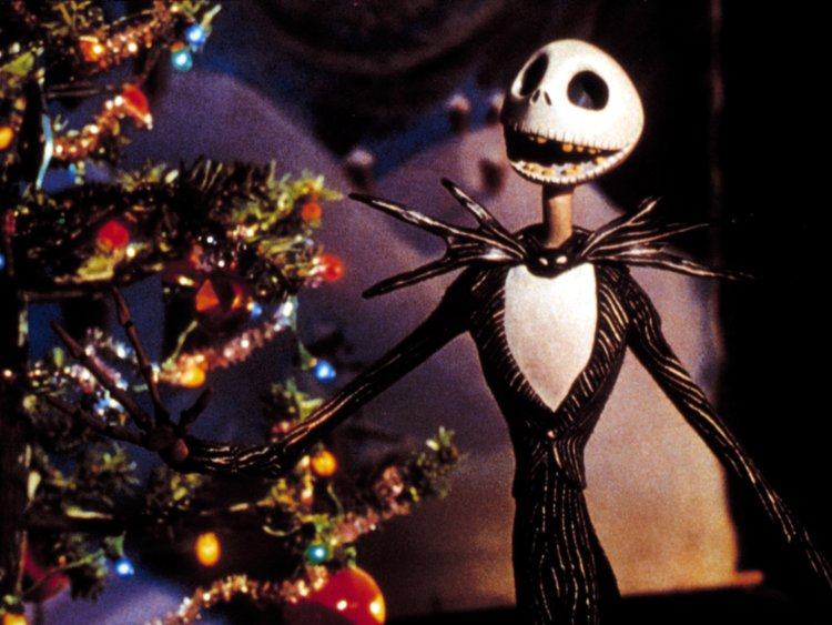 Jack Skellington Christmas.The Nightmare Before Christmas