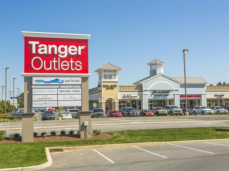 b96581fa TANGER OUTLETS. 1 of 1. Previous