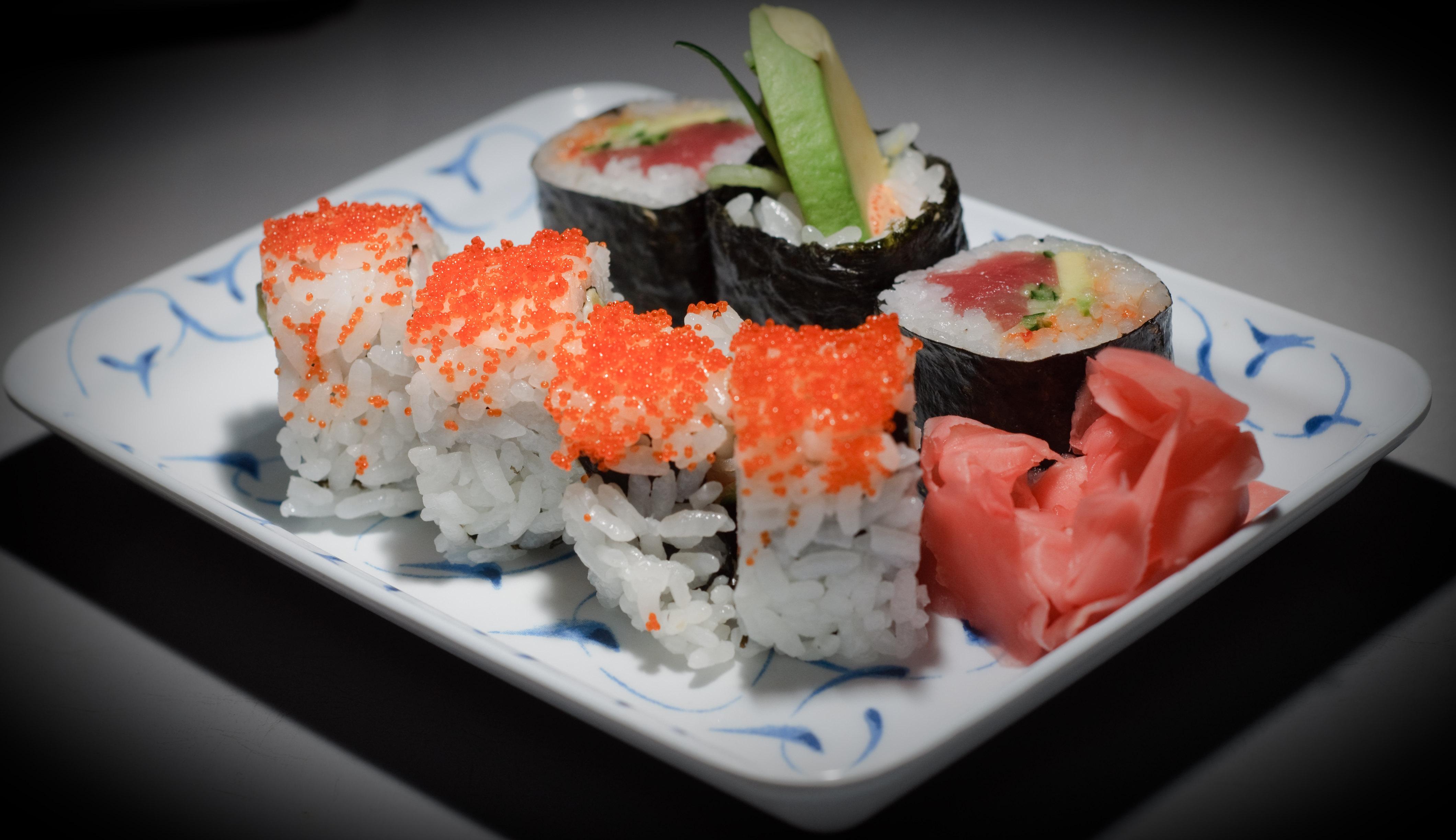 Superb Sushi On Beutiful Home Inspiration Semekurdistantinfo