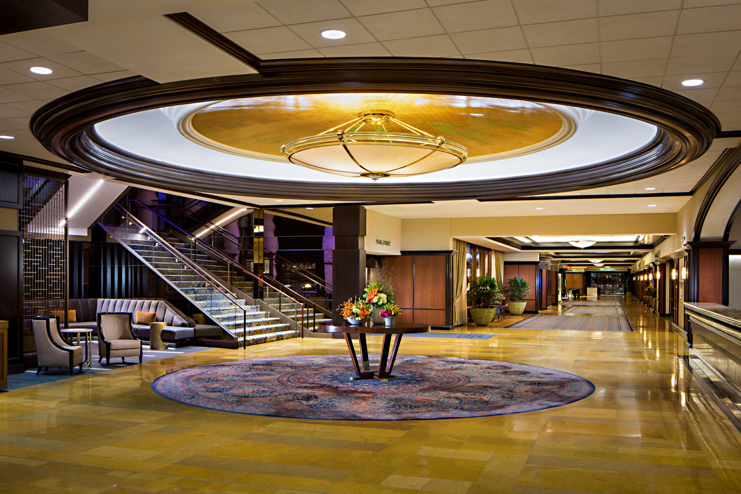 Amway Grand Plaza Curio Collection By Hilton Accommodations In Grand Rapids Mi