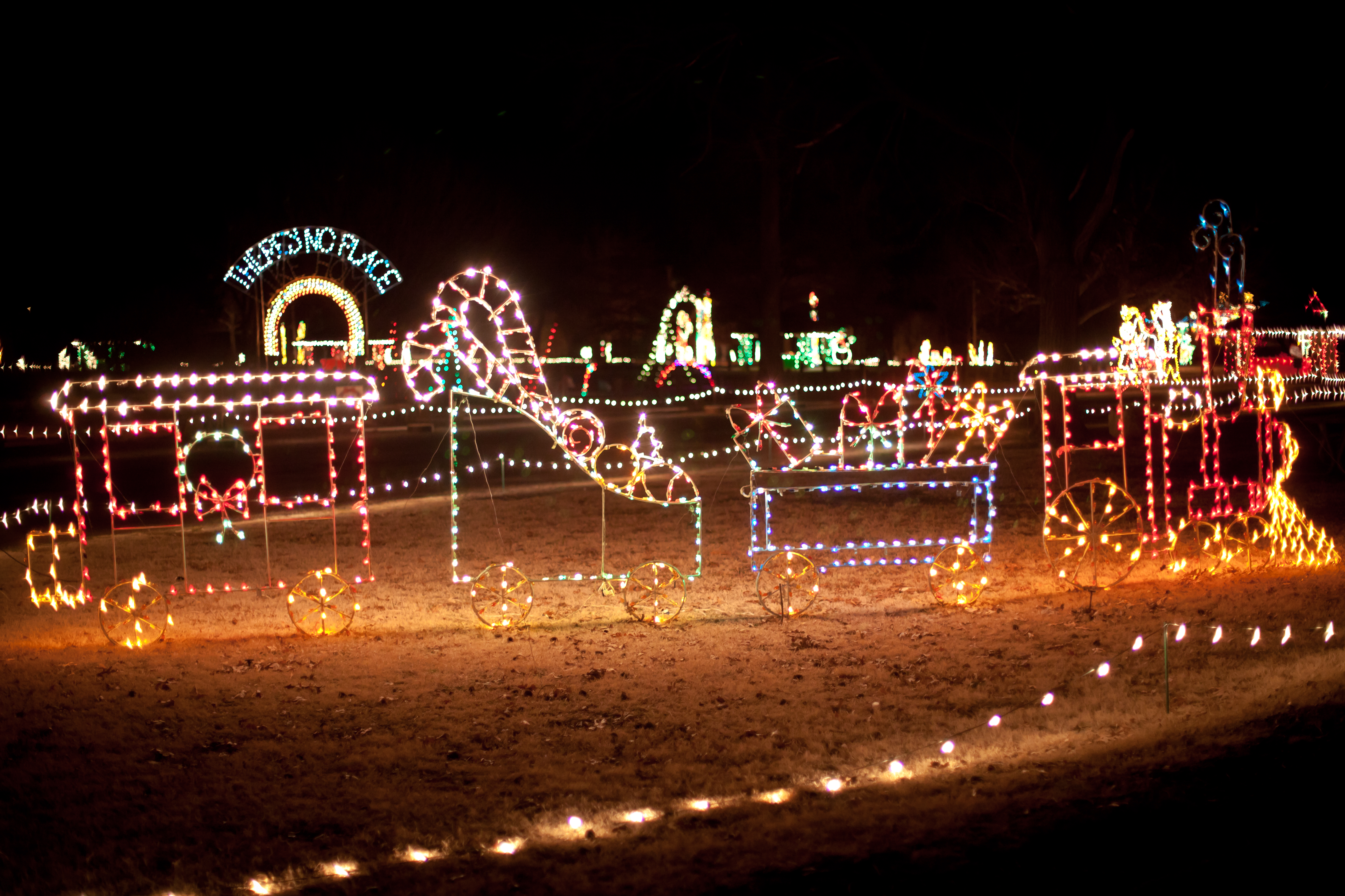 Christmas Lights In Wichita Ks.Winfield Isle Of Lights Winfield Ks 67156