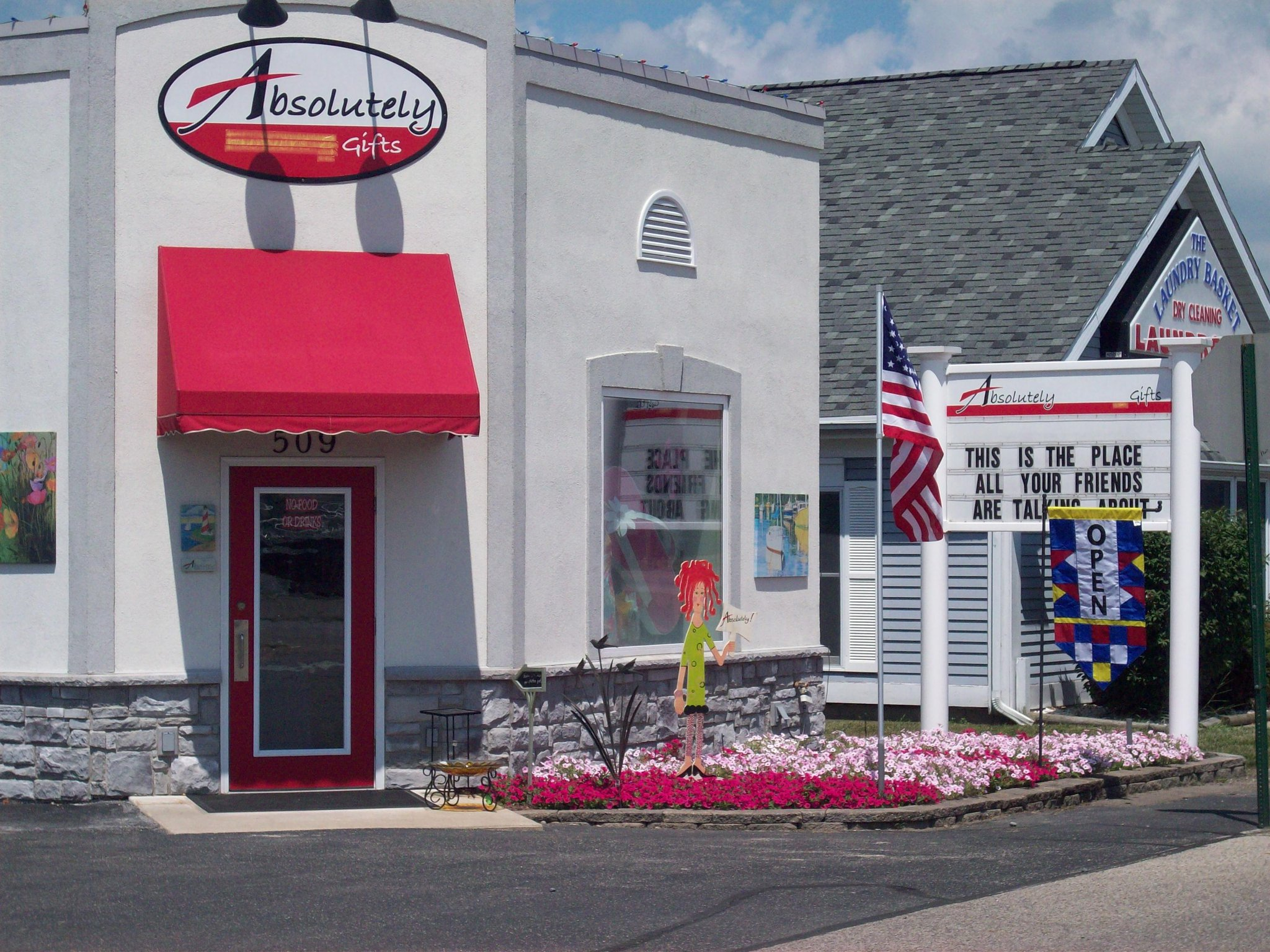 Absolutely Apparel & Gifts exterior